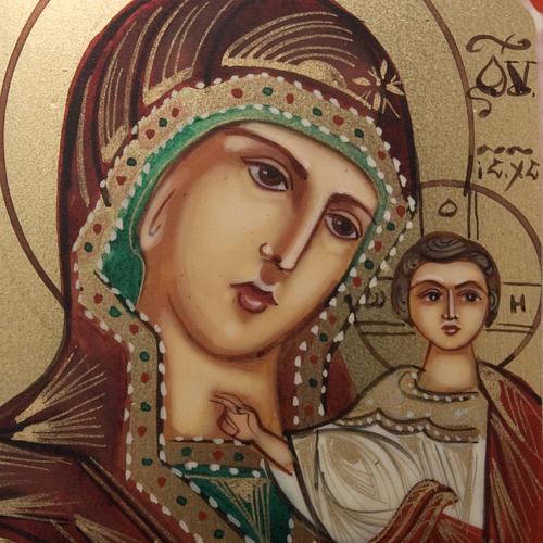 Icona miniatura Madonna Kazan 2