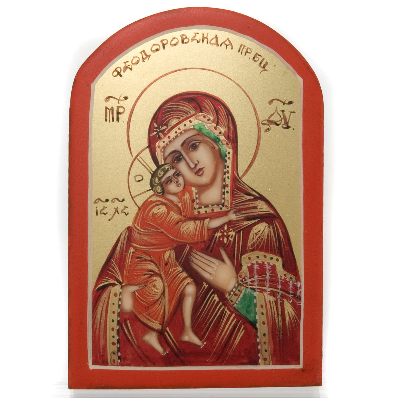 Icona miniatura Vergine Vladimir 4
