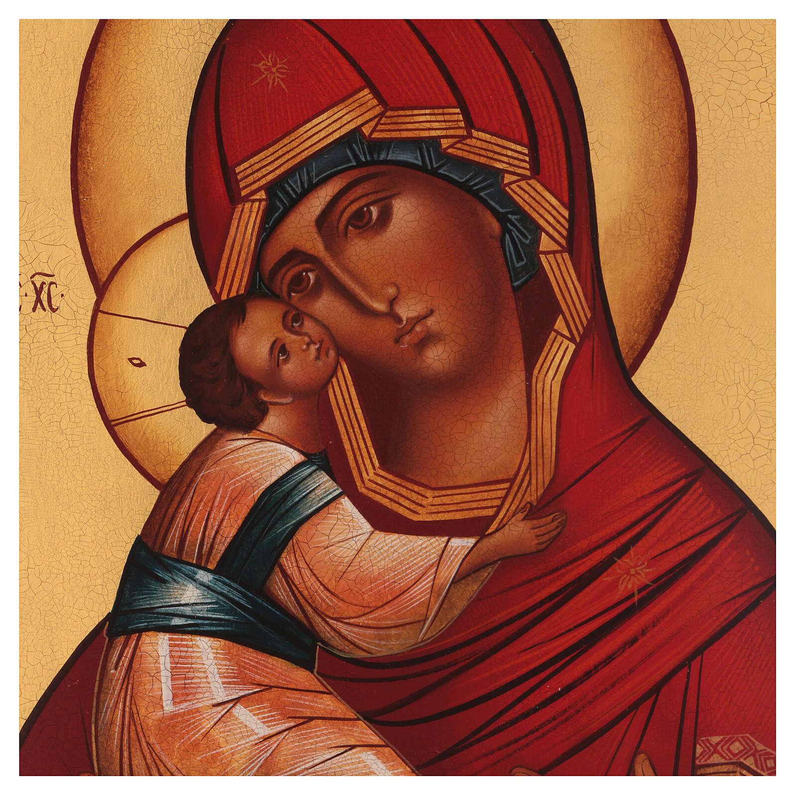 Icône russe Vierge de Vladimir 4