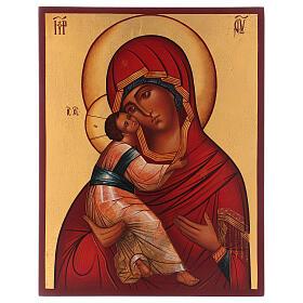 Icône russe Vierge de Vladimir s1
