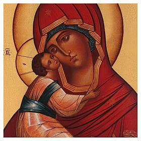 Icône russe Vierge de Vladimir s2