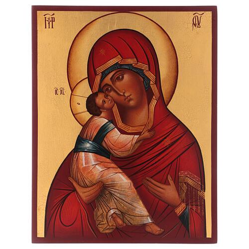 Icône russe Vierge de Vladimir 1