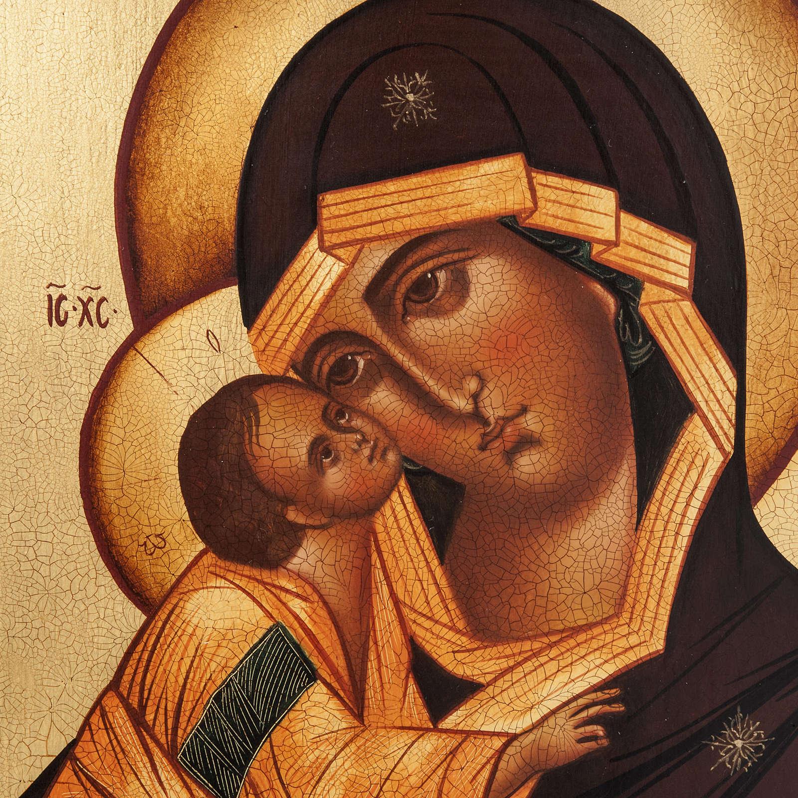 Ícono Ruso Madre de Dios Donskaja 4