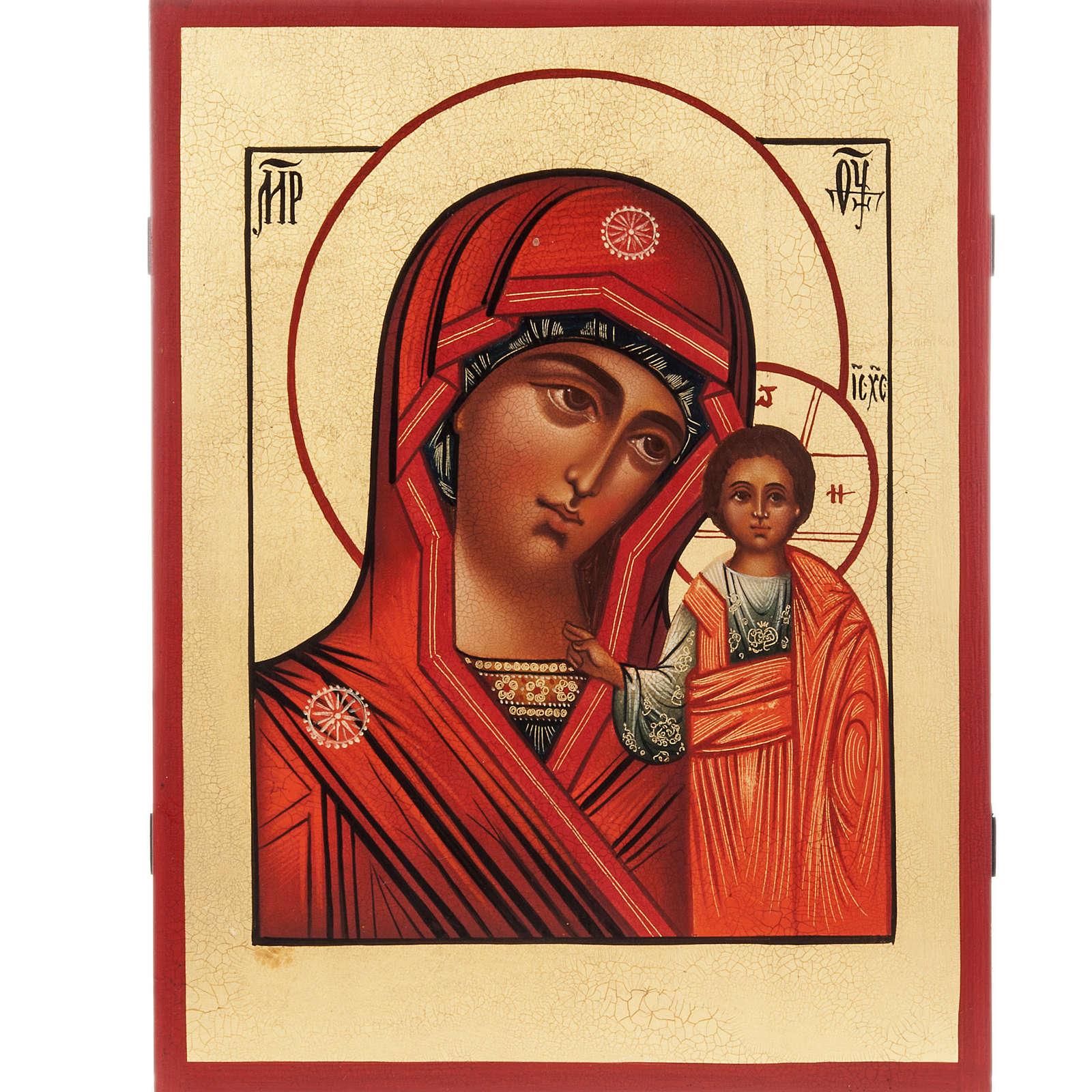 Icona Russa Vergine Kazan 4