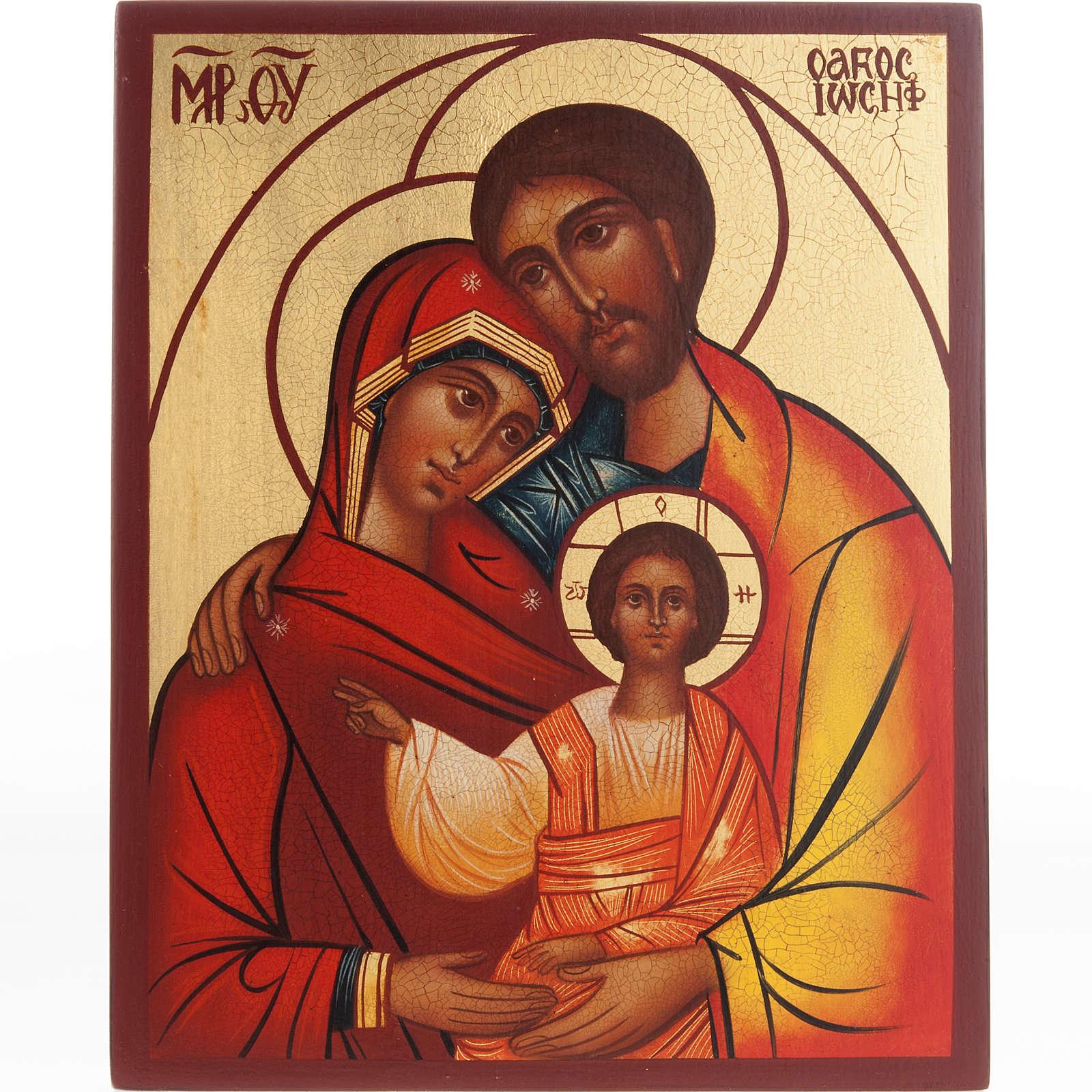 Icona russa Santa Famiglia 4