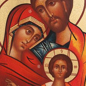 Icona russa Santa Famiglia s2