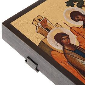 Icona russa Trinità di Rublev s5