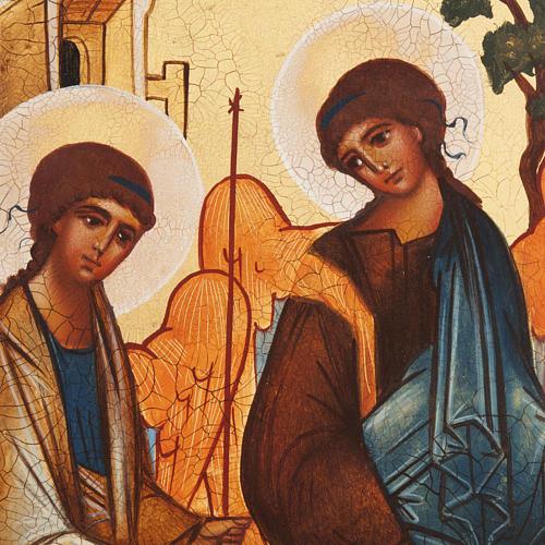 Icona russa Trinità di Rublev 2