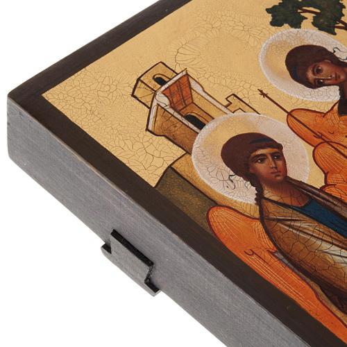 Icona russa Trinità di Rublev 5