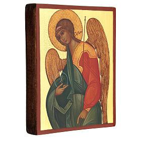 Russian icon Gabriel the Archangel 14x10 cm s3