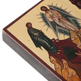Ícono Ruso pintado Transfiguración s4