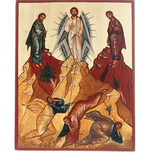 Ícono Ruso pintado Transfiguración 1