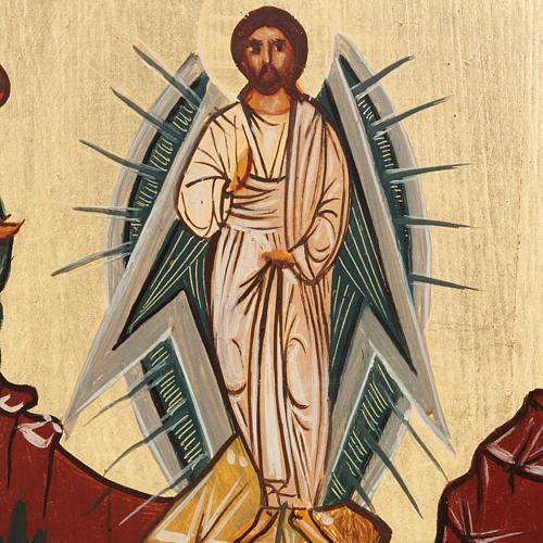 Ícono Ruso pintado Transfiguración 2