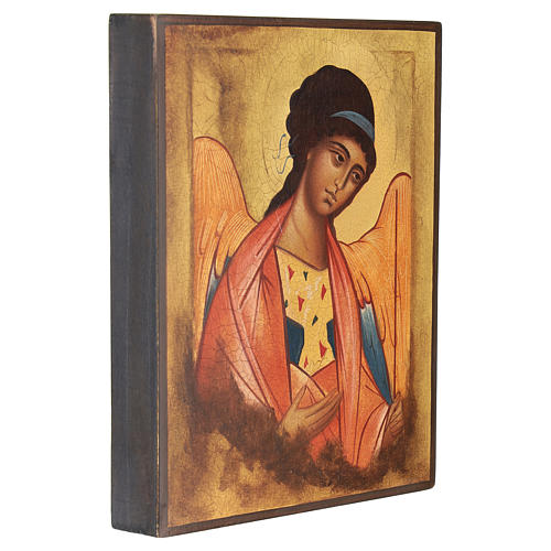 Russian icon Saint Michael the Archangel of Rublev 14x10 cm 3