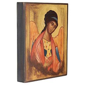 Icône Russe peinte Saint Michel Archange Rublev 14x10 cm s3