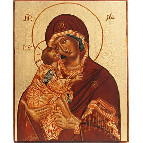 Rublev icon Mother of God of Vladimir s1
