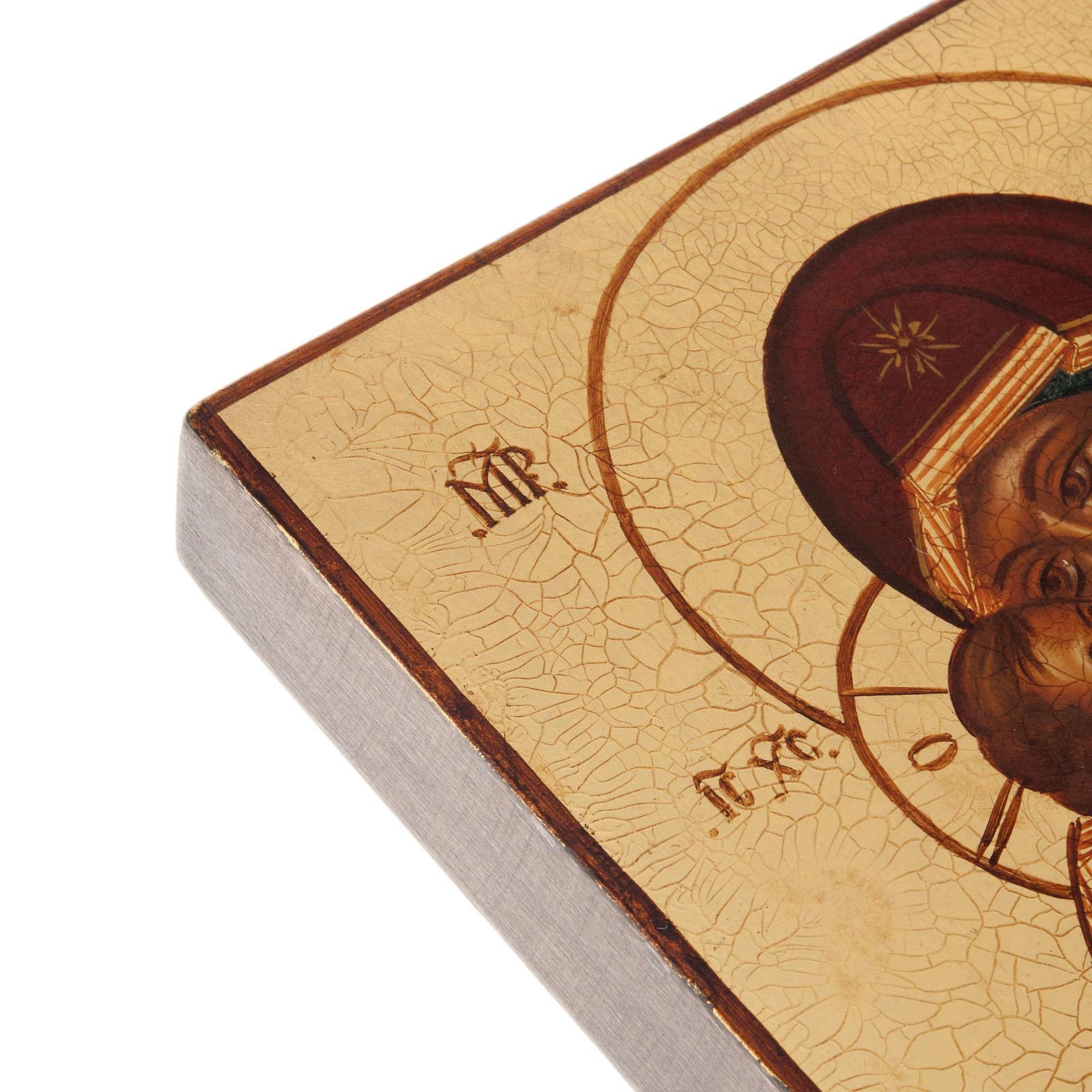 Icône Russe Mère de Dieu de Vladimir, Rublev 4