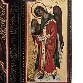 Trittico russo Mstjora Madonna della Tenerezza 17,5x21 s3