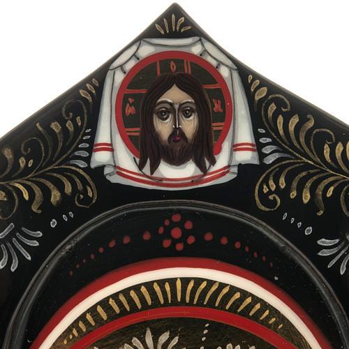 Trittico russo Mstjora Madonna della Tenerezza 17,5x21 5