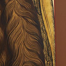 Icona Russia San Giovanni Battista 26x31 dipinta s4