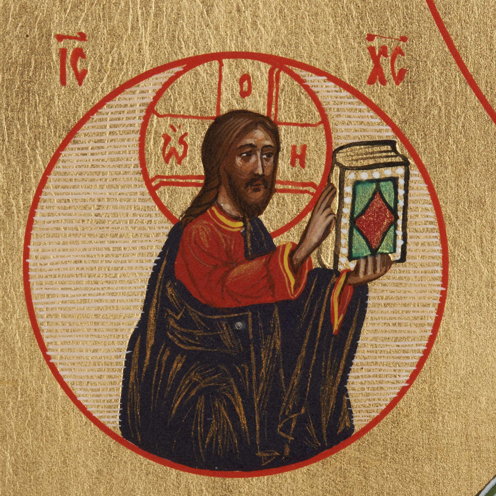 Icône Russe Saint-Nicolas peinte 4