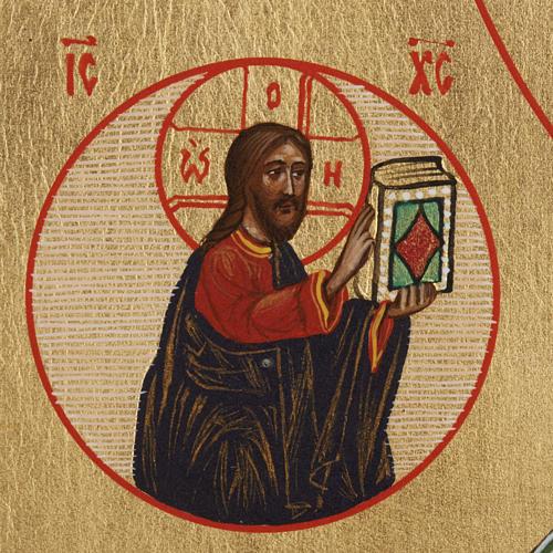 Icône Russe Saint-Nicolas peinte 3