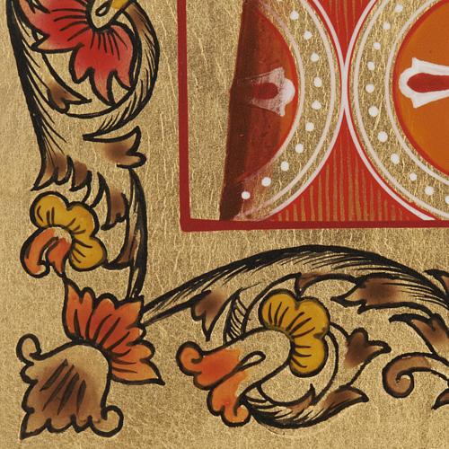 Icône Russe Saint-Nicolas peinte 6