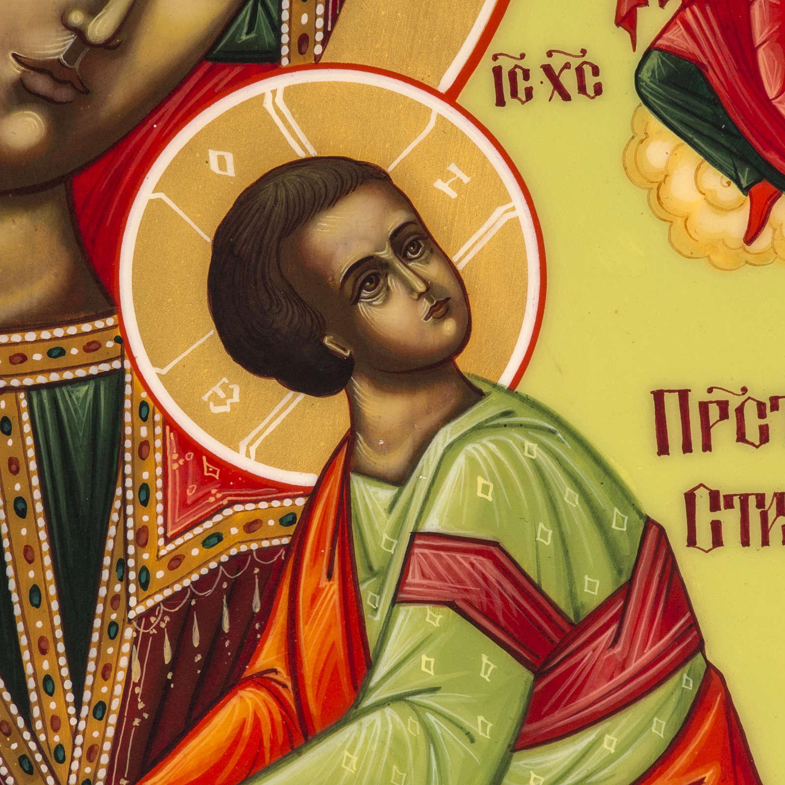 Icona Russia Madonna della Passione 27x22 4