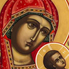 Icona Russia Madonna della Passione 27x22 s3