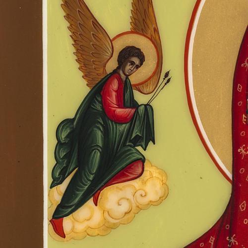 Icona Russia Madonna della Passione 27x22 5