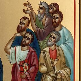 Icona Russia dipinta Ascensione 27x22 s4