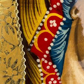 Uovo Icona Russia Vergine Kazan DIPINTO A MANO s8