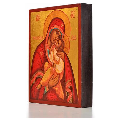 Icona russa Madonna della tenerezza Umilenie 2