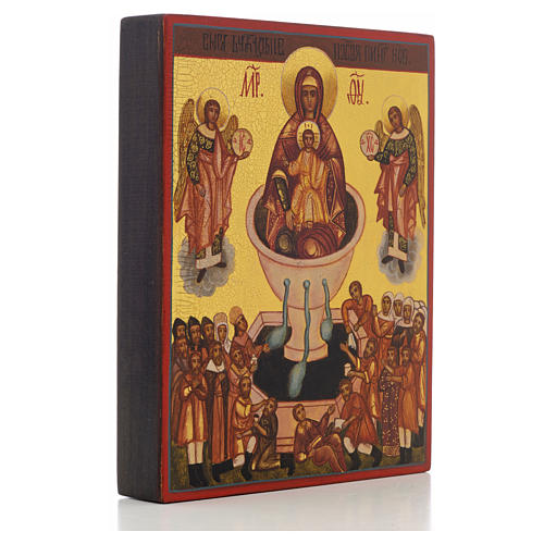 Russian icon, Our Lady Source of Life 2
