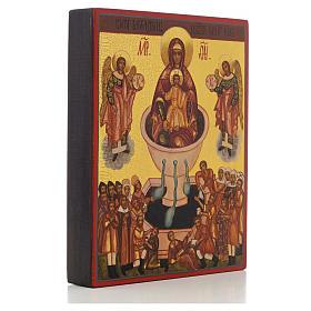 Ikona rosyjska Matka Boża źródło życia 'Żywe źródło' s2