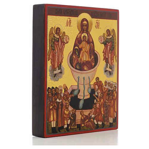Ikona rosyjska Matka Boża źródło życia 'Żywe źródło' 2