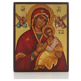 Icona russa Madre di Dio Strastnaja (della passione) s1