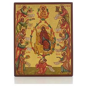 Icona russa Le Lodi della Madre di Dio s1