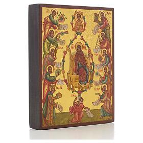 Icona russa Le Lodi della Madre di Dio s2