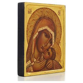 Icona russa Madonna di Korsun bordo alto s2