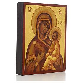 Icona russa Madonna di Tikhvin s2