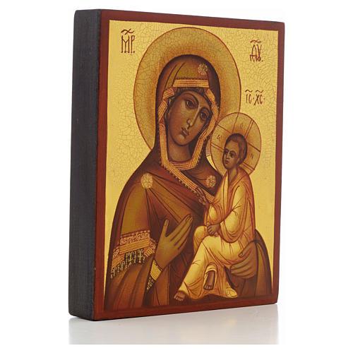 Icona russa Madonna di Tikhvin 2