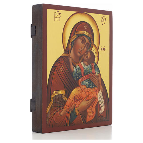 Our Lady Glykophilousa Russian Icon, 21x17 cm 2