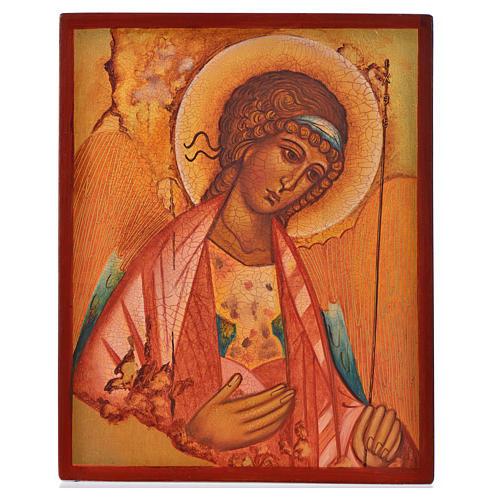 Icona russa San Michele di Rublov 14x11 1