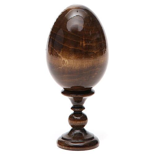 Russian Egg St. Nicholas découpage 13cm 11