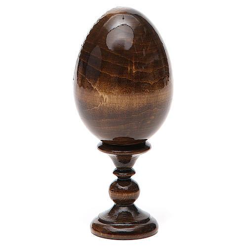 Russian Egg St. Nicholas découpage 13cm 3