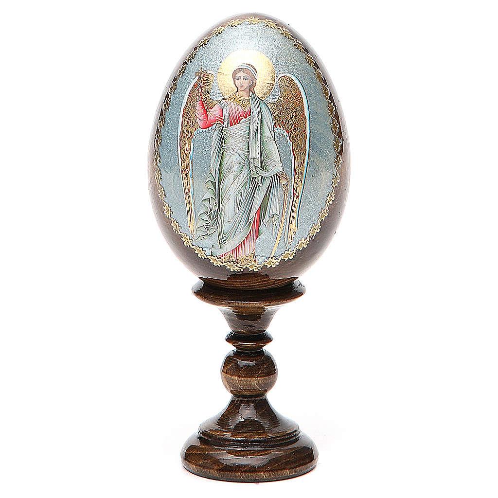 Russian Egg Guardian Angel découpage 13cm 4