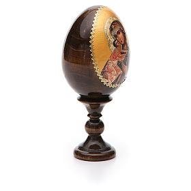 Russian Egg Feodorovskaya découpage 13cm s6