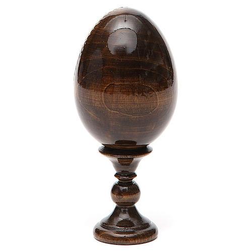 Russian Egg Feodorovskaya découpage 13cm 3