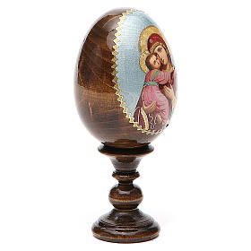 Russian Egg Vladimirskaya découpage 13cm s4